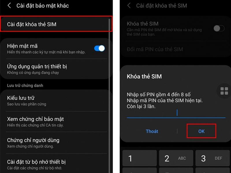Từ nay người dùng đã không còn sợ bị mất SIM nữa với cách đặt mã PIN cho thẻ SIM trên điện thoại